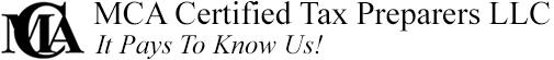 MCA Certified Tax Preparers LLC
